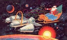Santa Claus in Space